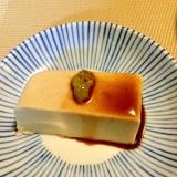 簡単ですが濃厚です☆手作り胡麻豆腐