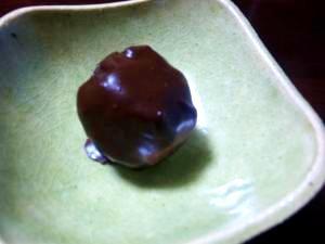 渋皮煮で簡単「栗トリュフ」