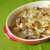 里芋と舞茸のグラタン