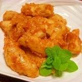 お弁当にオススメ☆鶏ササミのリンゴ風味チャップ