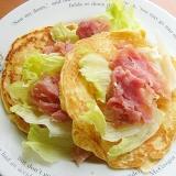 リヨン(フランス)のお袋の味クレープ♪(ポテト)
