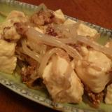 レンジであと一品☆もやしと豆腐のそぼろ煮