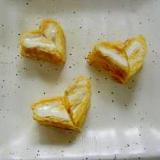 ❤お弁当にハートな卵焼き❤