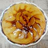 HM&フライパンで簡単にできる梨ケーキ♪