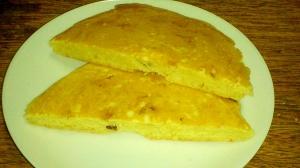 卵牛乳白砂糖なし 米粉入り レーズンのパンケーキ♪