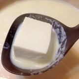 鍋の前菜に☆とろける湯豆腐