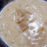 えのきともやしのごま豆乳スープ