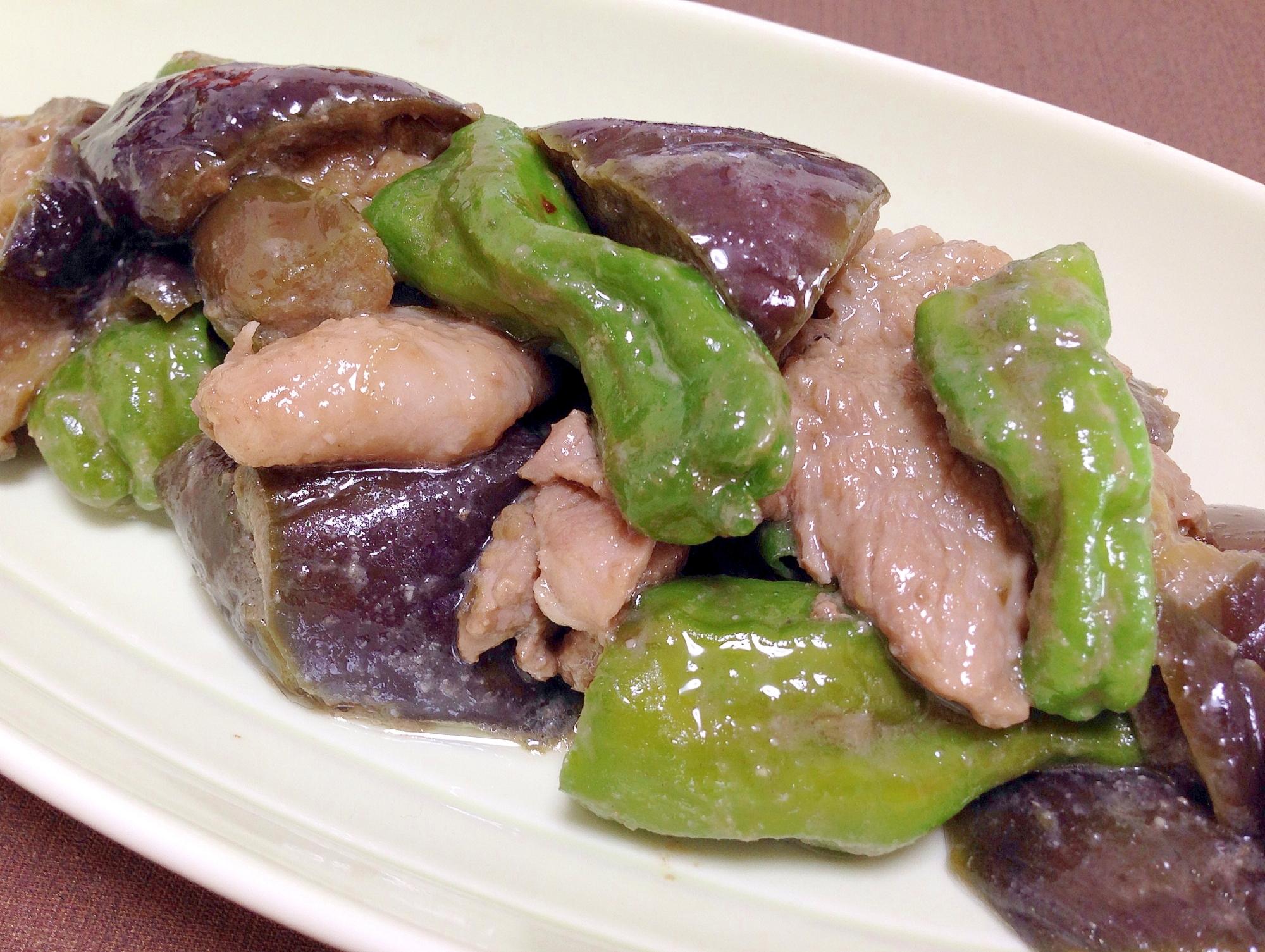 「ししとう」の味噌炒めレシピ