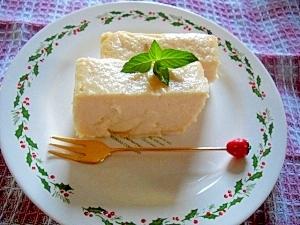 """おからとヨーグルトで """"クリームチーズ風ケーキ"""""""
