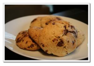 材料4つのみ!美味しい「 チョコレートスコーン 」