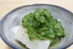 ☆糖質制限☆イカの緑おろしかけ