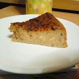 炊飯器で豆乳イチゴチーズケーキ