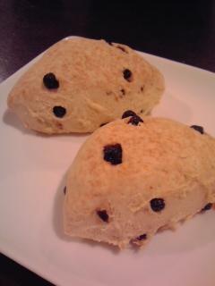 小麦粉で作る☆ブルーベリーのスコーン