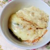 モツ鍋の翌日のお楽しみ♡豆乳チーズ雑炊