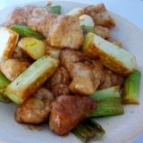 ☆お肉プリプリ♪ 鶏肉とねぎの生姜焼き☆