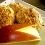 トースターで簡単☆はちみつりんごスコーン♪