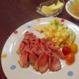 簡単ミックスベジタブルのポテトサラダ