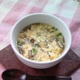 美味しいすっぱいスープ!豆腐ともずく酢スープ♪