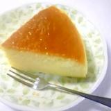 ノンオイルで☆スライスチーズでスフレチーズケーキ