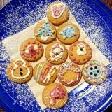 子供と作るデコクッキー♪クリスマス