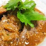 牛カルビの生姜醤油ダレ焼き