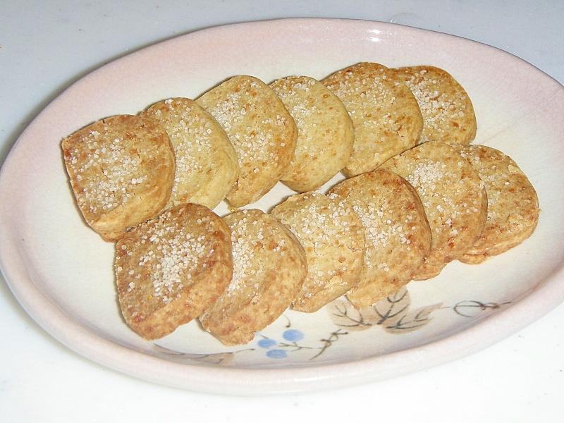粉末緑茶で★量り不要、バター・卵不使用の塩クッキー