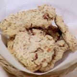 健康法師の ココナッツオイルでおからクッキー塩味