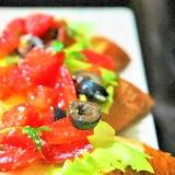 イタリアの定番料理! トマトのブルスケッタ