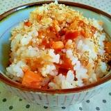 簡単おいしい✿焼きたらこと焼き鮭の混ぜご飯❤