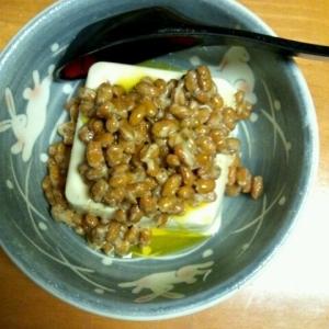 塩納豆(オリーブオイル入り)