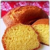 HM&ココナッツオイルで超簡単☆南国気分のケーキ