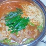 ピリ辛キムチ鍋++