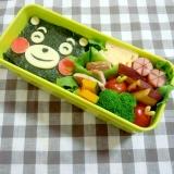 簡単キャラ弁☆ 2D くまもんのお弁当♪