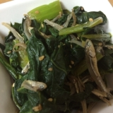 高菜とかえりちりめんの炒め物(●´ー`●)