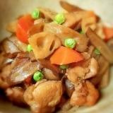 鶏もも肉と根菜のごった煮