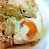 豚バラで肉豆腐&トロ~り煮卵♪
