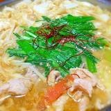 韓国風!ゴマ味噌鍋