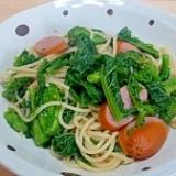 菜の花スパゲッティ