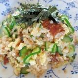 うなぎと炒り卵の混ぜ寿司
