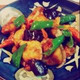 P's亭*野菜たっぷり 酢豚