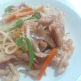 ご飯がすすむ☆豚肉といろいろ野菜の塩だれ炒め