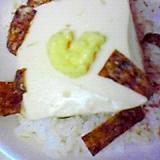 レンジで簡単ヘルシー☆豆腐丼♪