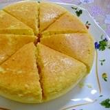 炊飯器で★大きな卵蒸しパン
