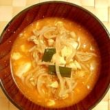 豆腐入りキムチスープ♪スンドゥフ