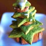 子どもと作る!クリスマスツリークッキー♪