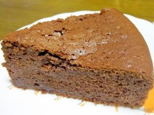 HMで簡単☆しっとり濃厚チョコケーキ