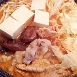 コチュジャン入りの味噌キムチ鍋