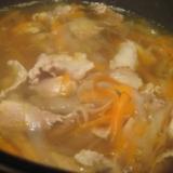 豚肉と大根たっぷり鍋
