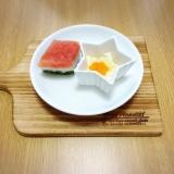 離乳食初期〜ひなまつりプレート〜