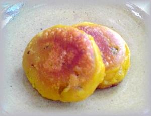 かぼちゃの煮物deかぼちゃ餅